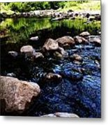Riversong Metal Print by Lucy D