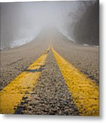 Road To Nowhere Metal Print by Bill Pevlor