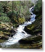 Roaring Fork Falls - Spring 2013 Metal Print by Joel Deutsch