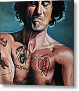 Robert De Niro In Cape Fear Metal Print by Paul Meijering