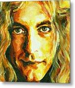 Robert Plant. The Enchanter Metal Print by Tanya Filichkin