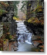 Robert Treman State Park Metal Print by Frozen in Time Fine Art Photography