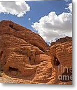 Rock Formations Valley Of Fire Metal Print by Jane Rix