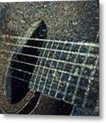 Rock Guitar Metal Print by Photographic Arts And Design Studio