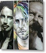 'rock Montage I' Metal Print by Christian Chapman Art