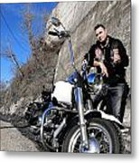 Rockabilly Metal Print by Ok More Photos