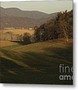 Rockingham County Virginia Meadow Metal Print by Anna Lisa Yoder