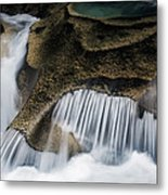 Rocks In Paradise Metal Print by Inge Johnsson