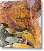 Rocks1 Metal Print by Katina Cote