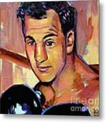 Rocky Marciano Metal Print by Robert Phelps