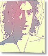 Roger Daltrey Metal Print by Giuseppe Cristiano