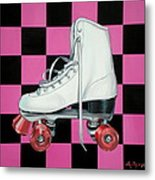 Roller Skate Metal Print by Anthony Mezza