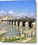 Roman Bridge In Cordoba Metal Print by Artur Bogacki