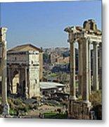 Roman Forum  Metal Print by Tony Murtagh