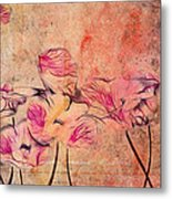 Romantiquite - 44bt22 Metal Print by Variance Collections