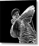 Ron Santo - H O F Metal Print by David Bearden