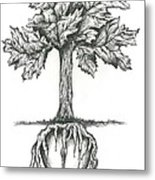 Roots Of The Heart Metal Print by Karen Sirard