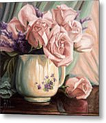 Rose Roses Metal Print by Lucie Bilodeau