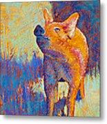 Rosie Metal Print by Tracy L Teeter