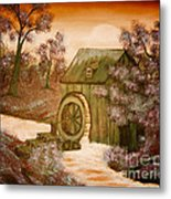 Ross's Watermill Metal Print by Barbara Griffin