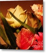 Rough Pastel Flowers - Award-winning Photograph Metal Print by Gerlinde Keating - Keating Associates Inc