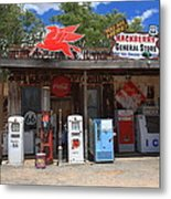 Route 66 - Hackberry General Store Metal Print by Frank Romeo