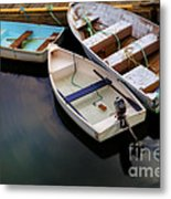 Rowboats Metal Print by Diane Diederich