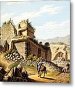 Ruins Of The Stadium, 1790s Metal Print by Gaetano Mercati