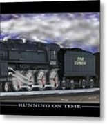 Running On Time Metal Print by Mike McGlothlen