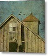 Rural Iowa Barn 5 Metal Print by Cassie Peters