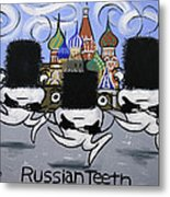 Russian Tooth Metal Print by Anthony Falbo