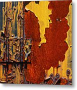 Rust Abstract Metal Print by Jack Zulli