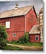 Rustic Barn Metal Print by Bill Wakeley