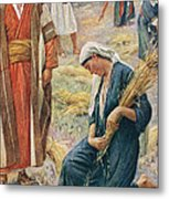 Ruth Metal Print by Harold Copping