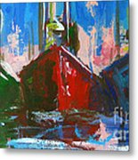 Sailboat Metal Print by Patricia Awapara