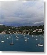 Sailing Saint Thomas Metal Print by Willie Harper