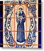 Saint Anthony Of Padua Metal Print by Christine Till