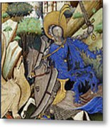Saint George And The Dragon Metal Print by Getty Research Institute