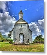 Saint Joeseph's Church Maui  Hawaii Metal Print by Puget  Exposure