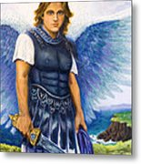 Saint Michael The Archangel Metal Print by Patty Kay Hall