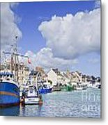 Saint Vaast La Hougue Normandy France Metal Print by Colin and Linda McKie
