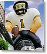 Saints New Orleans Metal Print by Christine Till