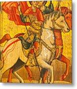 Saints Sergius And Bacchus Metal Print by Marx Broszio