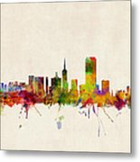 San Francisco City Skyline Metal Print by Michael Tompsett