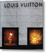 San Francisco Louis Vuitton Storefront - 5d20546 Metal Print by Wingsdomain Art and Photography