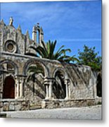 San Giovanni Alle Catacombe In Siracusa Metal Print by RicardMN Photography
