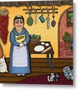 San Pascuals Kitchen 2 Metal Print by Victoria De Almeida