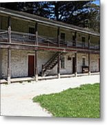 Sanchez Adobe Pacifica California 5d22643 Metal Print by Wingsdomain Art and Photography