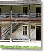 Sanchez Adobe Pacifica California 5d22655 Metal Print by Wingsdomain Art and Photography