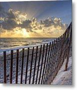 Sand Dunes   Metal Print by Debra and Dave Vanderlaan